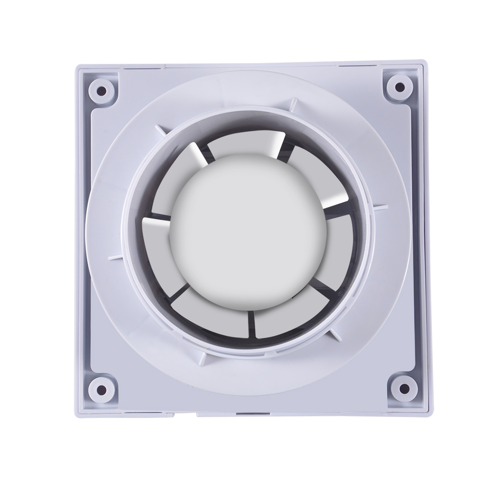 "New 6/"" Exhaust Extractor Fan Wall Bathroom Toilet Kitchen Mounted 110V White US"