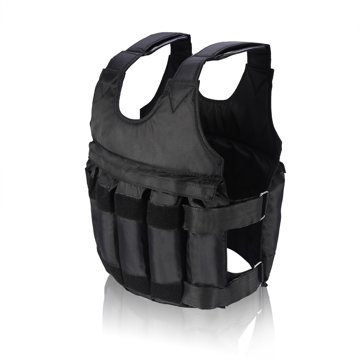 Weighted-Vest-44-110lbs-Weight-Workout-Exercise-Body-Training-Crossfit-Equipment thumbnail 12