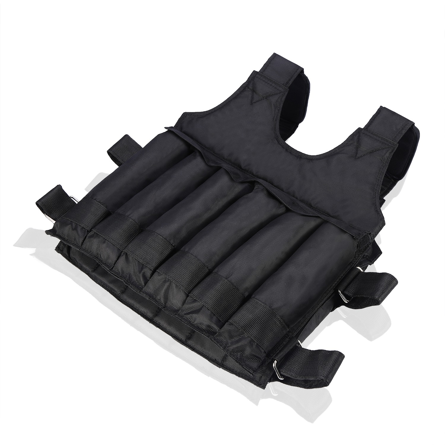 Weighted-Vest-44-110lbs-Weight-Workout-Exercise-Body-Training-Crossfit-Equipment thumbnail 16