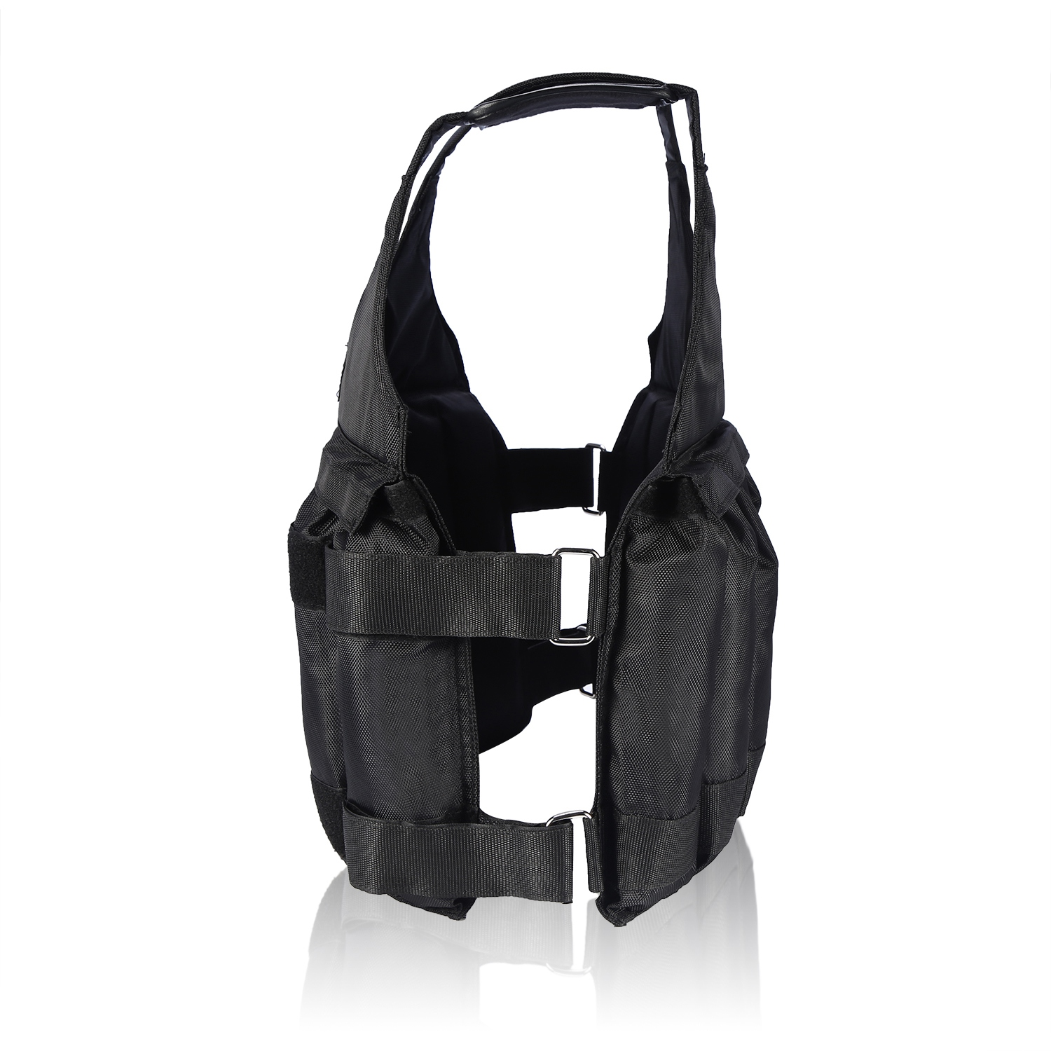 Weighted-Vest-44-110lbs-Weight-Workout-Exercise-Body-Training-Crossfit-Equipment thumbnail 14