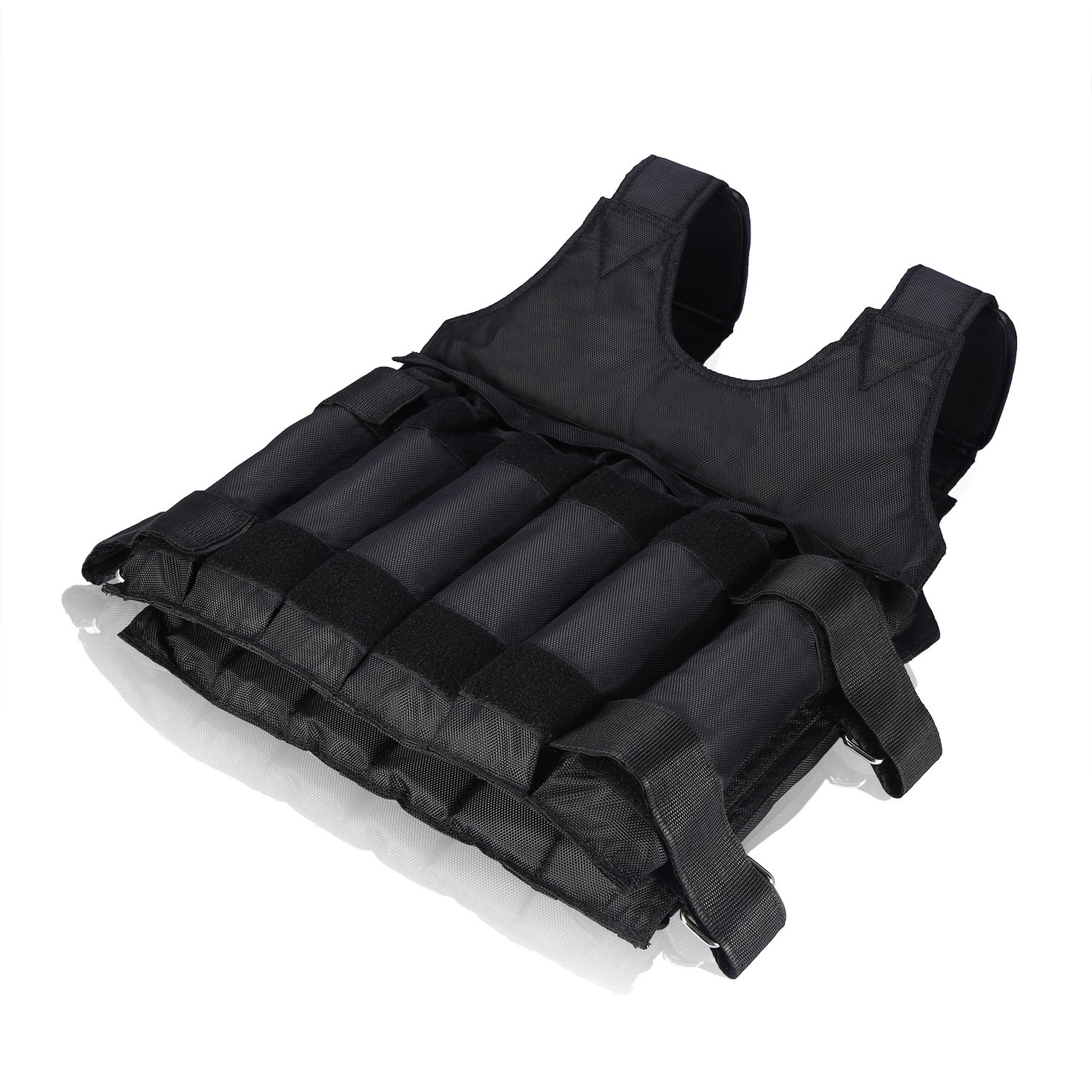 Weighted-Vest-44-110lbs-Weight-Workout-Exercise-Body-Training-Crossfit-Equipment thumbnail 24