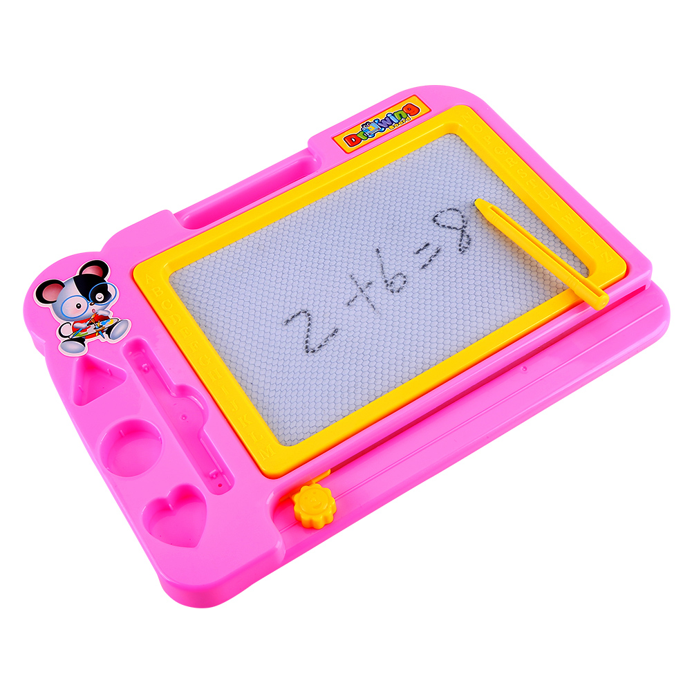 Kids Magnetic Drawing Board with Pen Writing Sketch ...