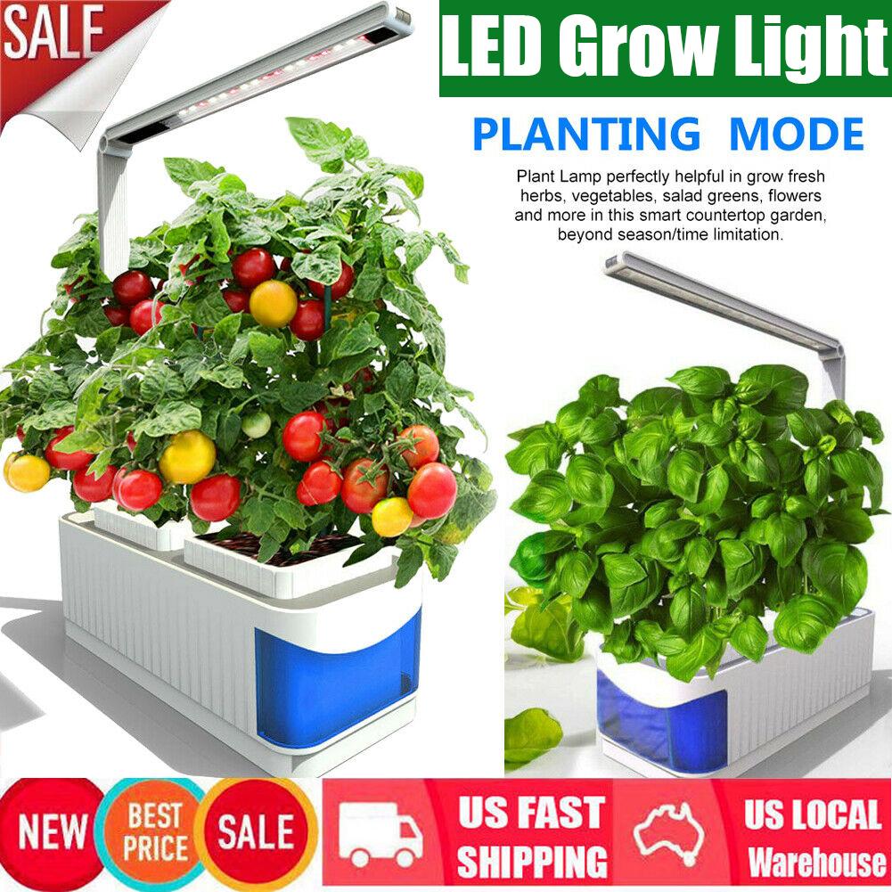 Details About 2 Modes Garden Plants Grow Kit Light Adjule Led Herb Hydroponics Indoor Lamp