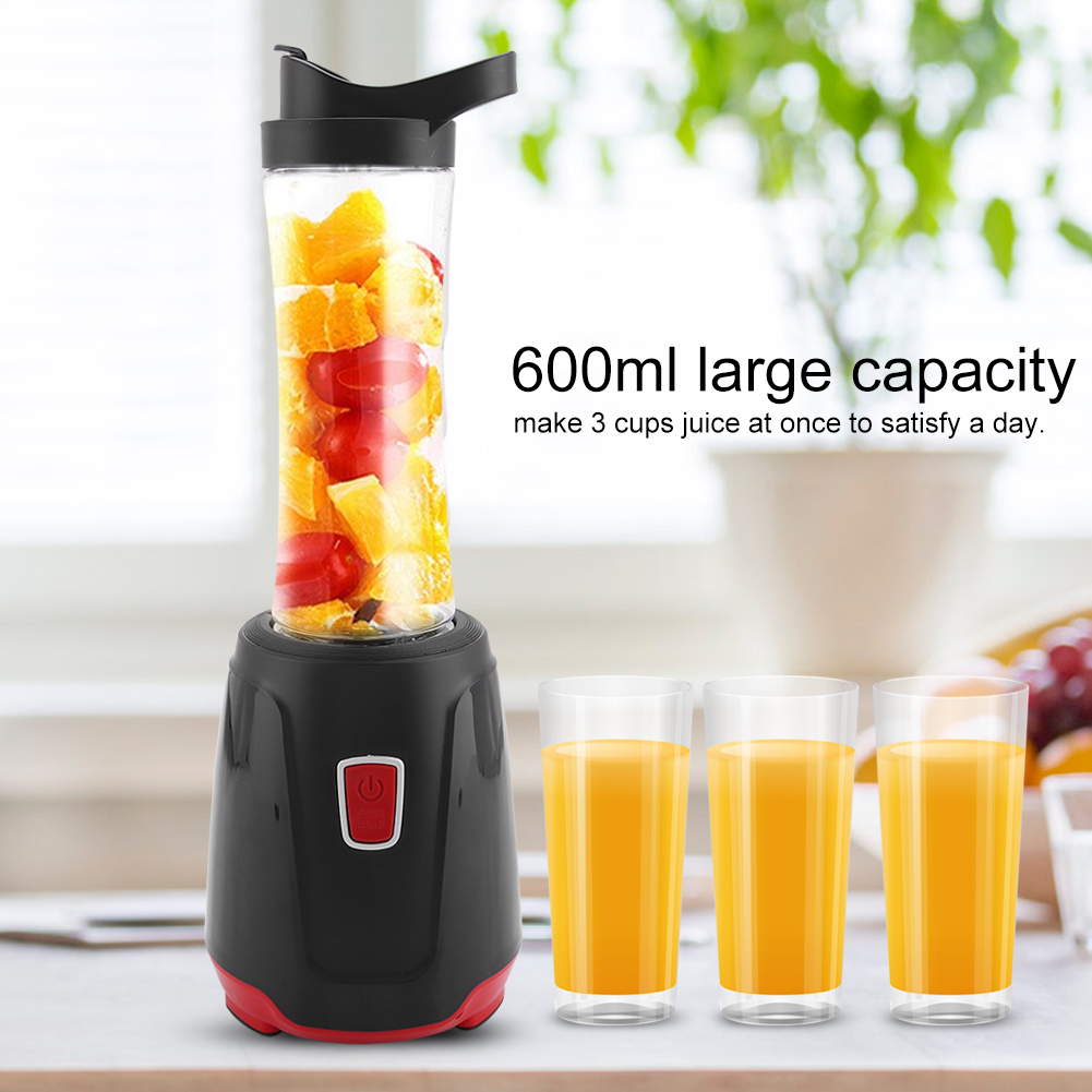 Azure 0.6L 600ml Drink Mixer Stand Blender Juicer Smoothie Gym Sport Cup Shake