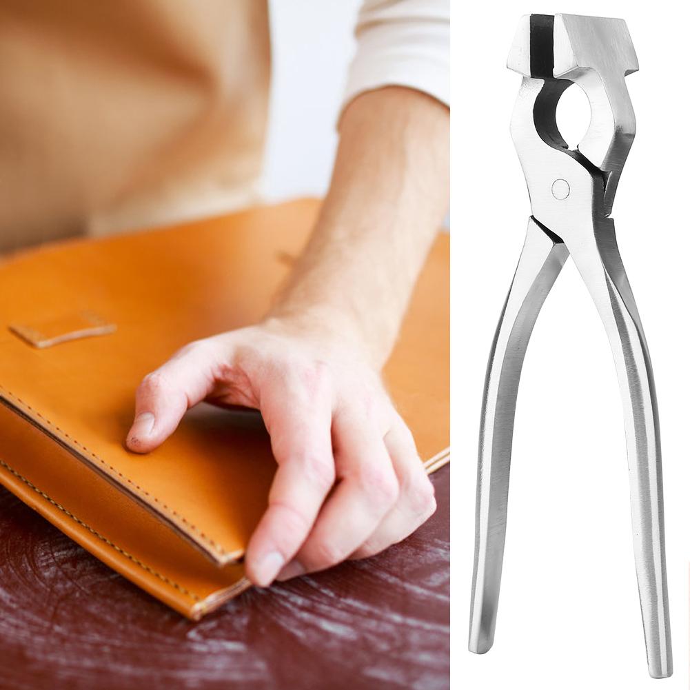 Straight Leather Craft Fixed Pliers Flatten Plier Handbag Wallet Edge Clamp Tool