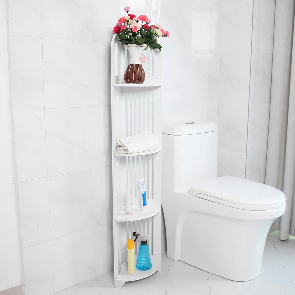 5-Tier Shower Corner Shelf Caddy Bathroom Shelves ... on Bathroom Corner Shelf  id=28790