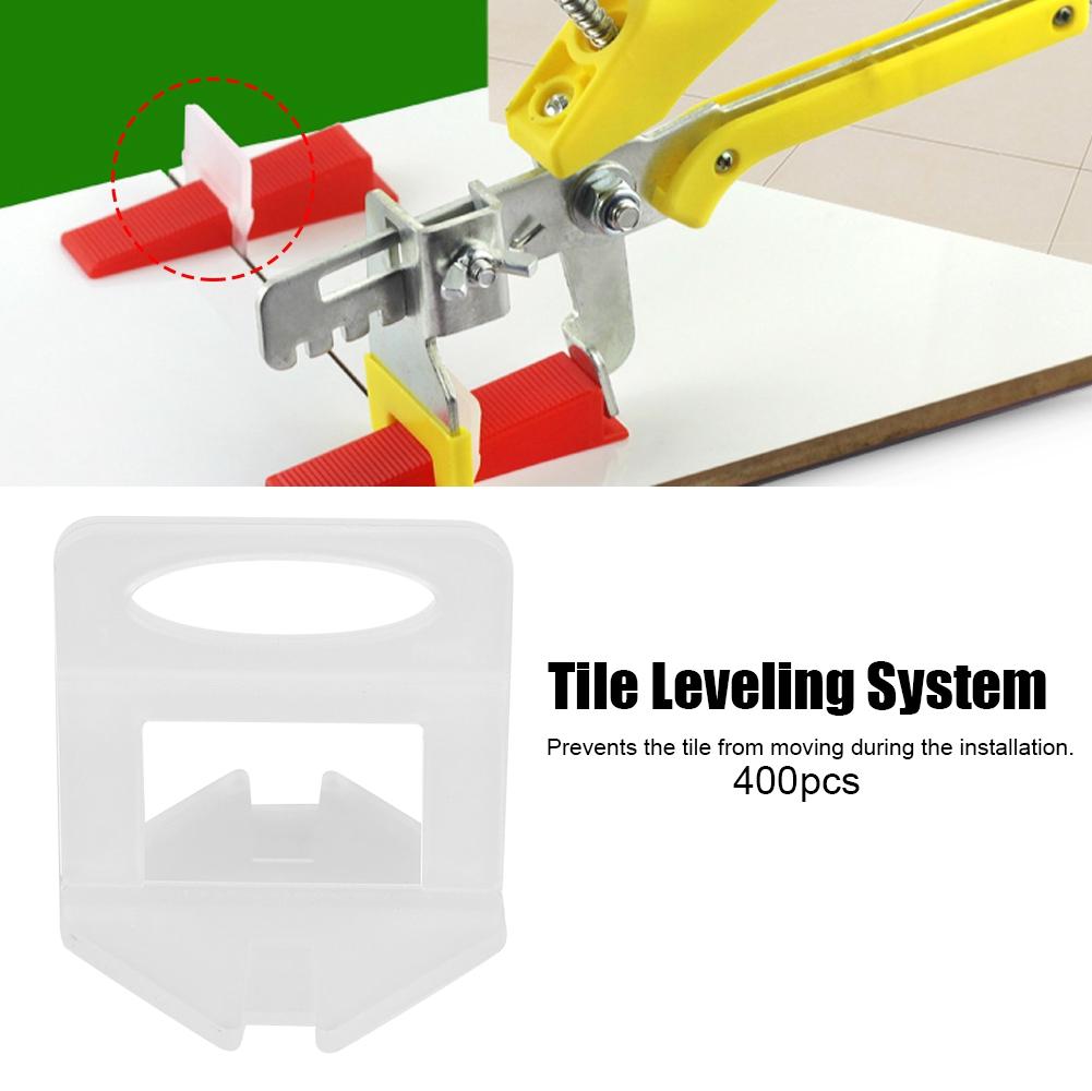 100pcs Nivelliersystem Fliesen Verlegehilfe Satz Verlegesystem Locator Werkzeug