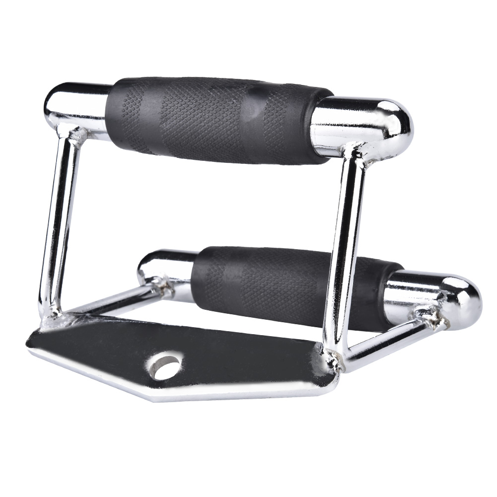 Home-Gym-Attachments-Exercise-Machine-Triceps-Rope-Cable-V-Pull-Up-Bar-D-Handle thumbnail 19