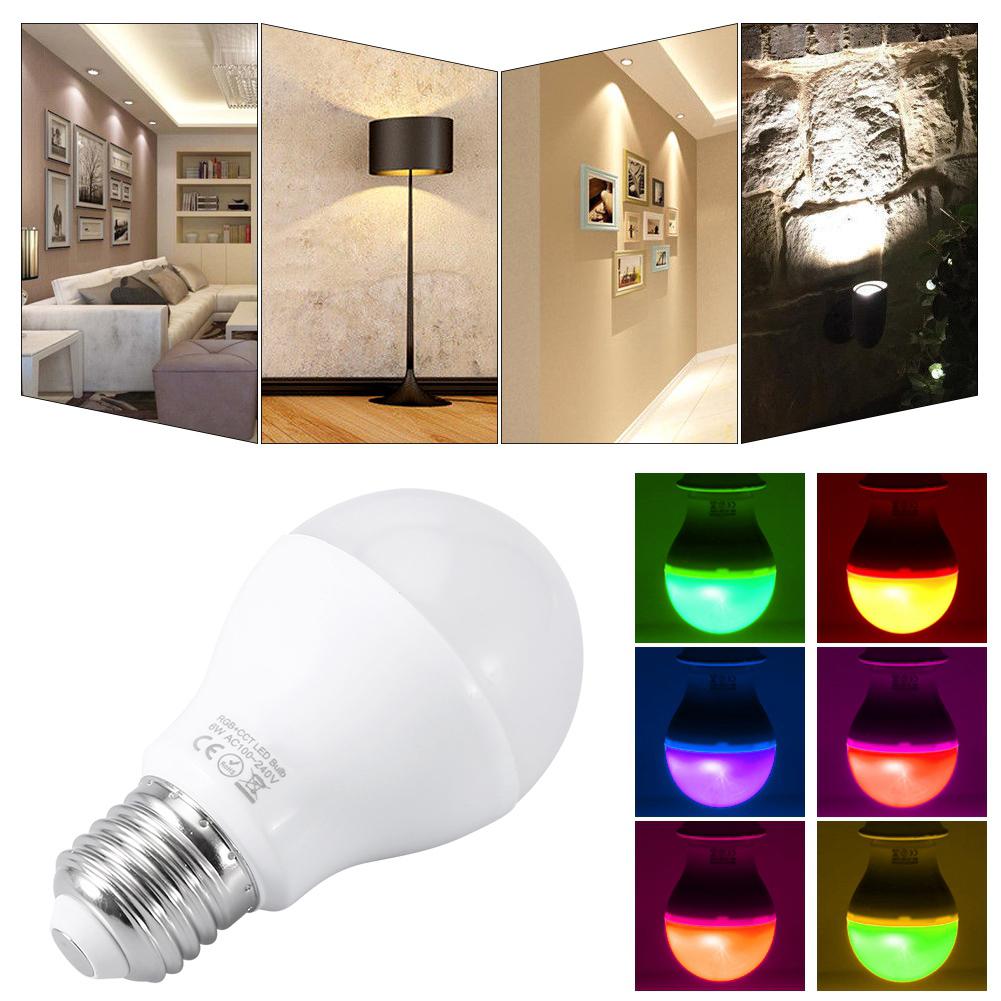 Rgbw Rbg Cct E27 Gu10 Mr16 Led Light Dimmable Bulb Lamp 2