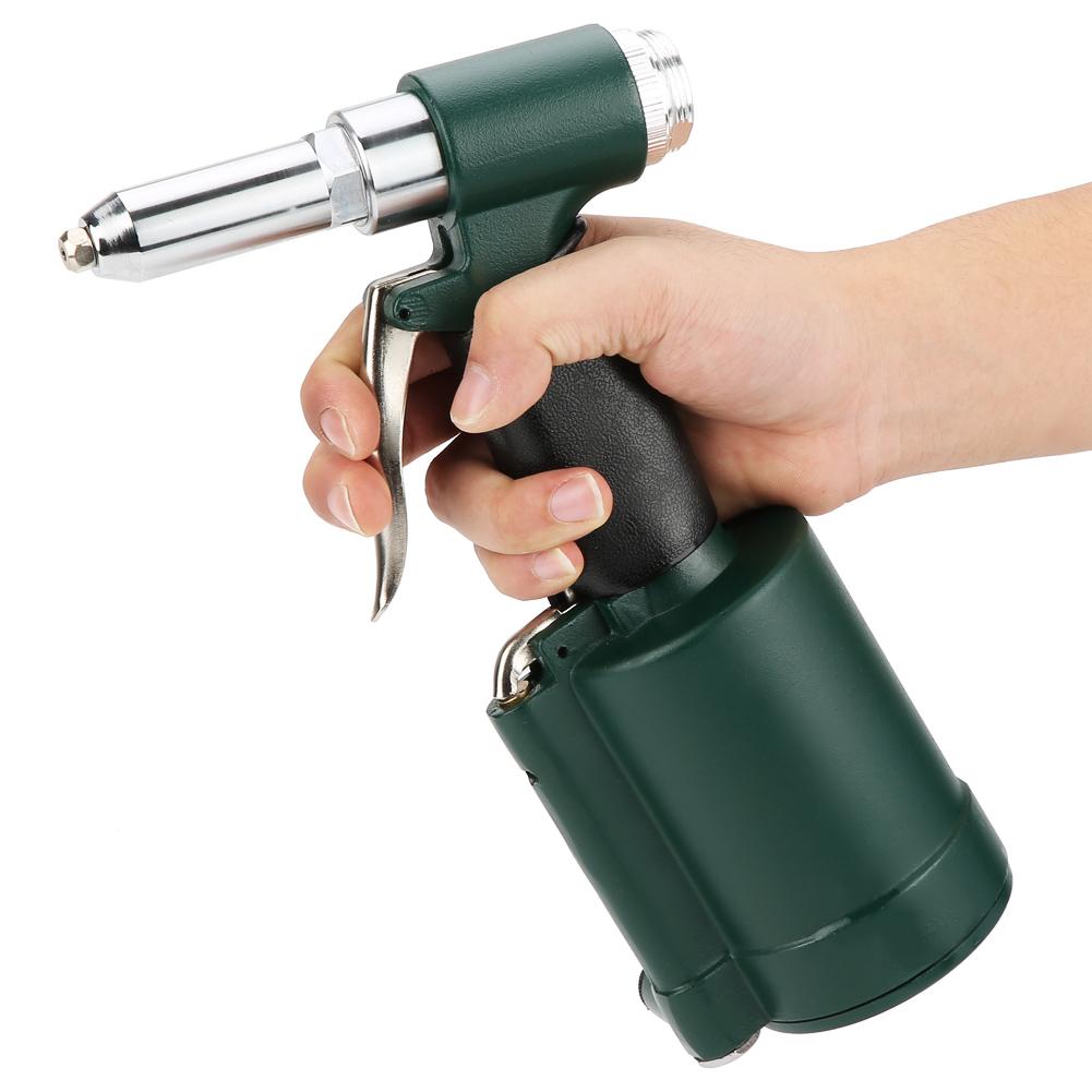 Druckluft Nietenzange Nietzange Nietpistole Werkzeug Blindnietgerät NICE Top DE