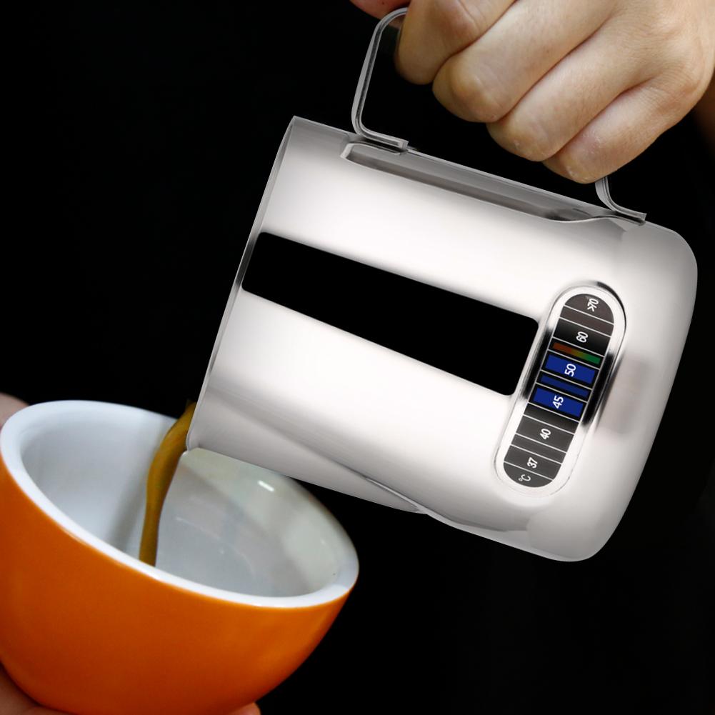 Cream Steaming Pitcher Coffee Milk Frothing Steam Espresso