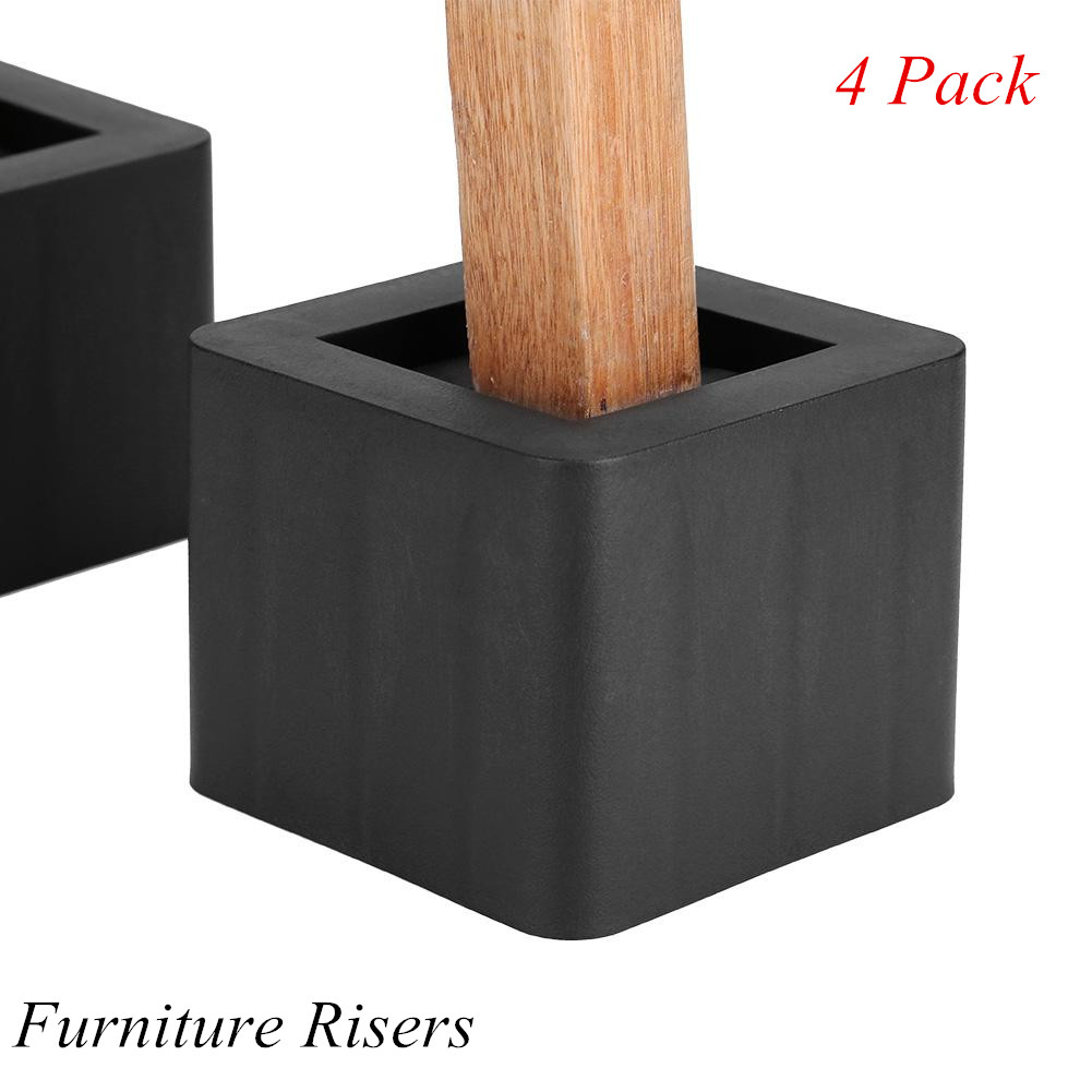 Fine Details About Bed Risers Or Furniture Riser Bed Sofa Table Lifts In Height Of 3 Heavy Duty Us Bralicious Painted Fabric Chair Ideas Braliciousco
