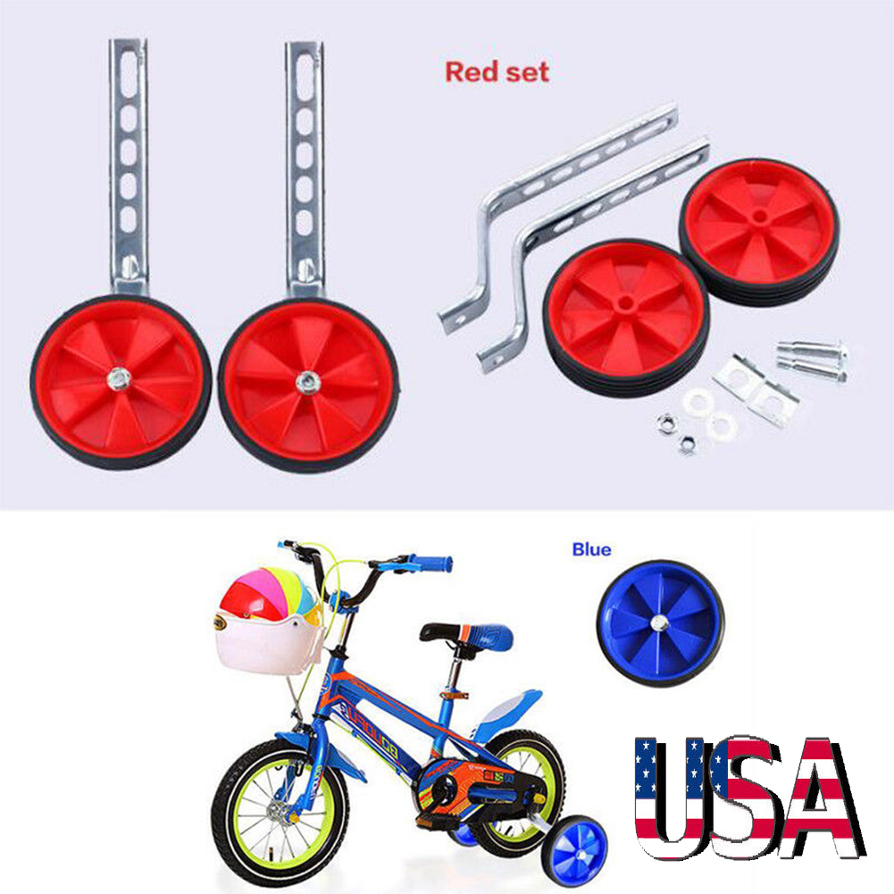 """Child Kids Bicycle Bike Training Wheels Fits 12-20/""""  Adjustable Easy Fit"""