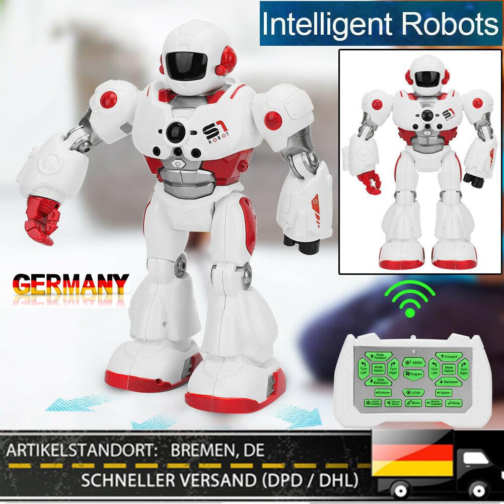 Virhuck R2 Rc Smart Roboter Spielsachen Tanzende Singender Walking Geste Sinn