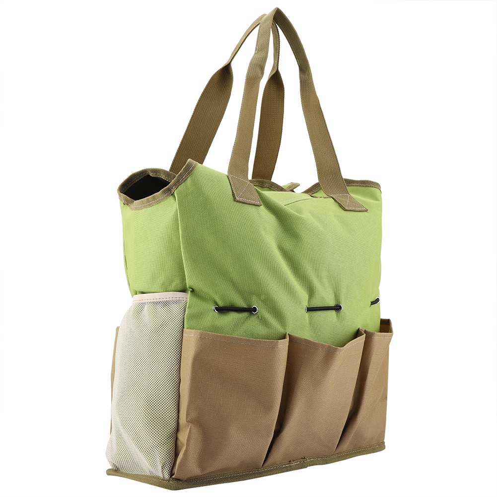 e28e6839 Portable gardening tool bag, easy and convenient to carry. 3. 5 outside  pockets and 2 inner large pockets, ...