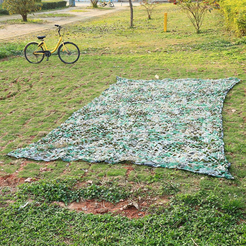 Filet Camouflage Camo Camping 5m x 1.5m Chasse Foret Camouflable L5S2 1X