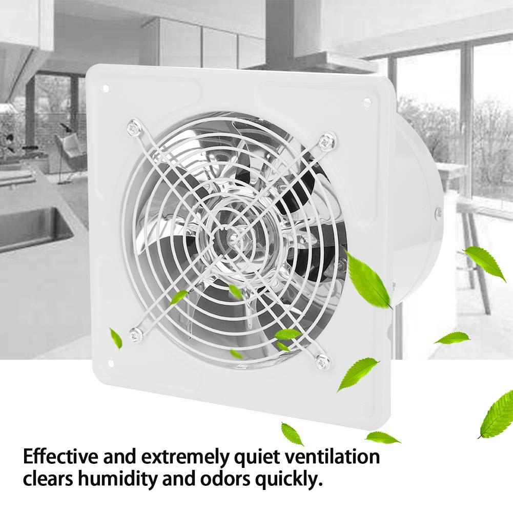 Details About 6in 40w Super Quite Wall Exhaust Fan Bathroom Kitchen Garage Ventilation Vent Us