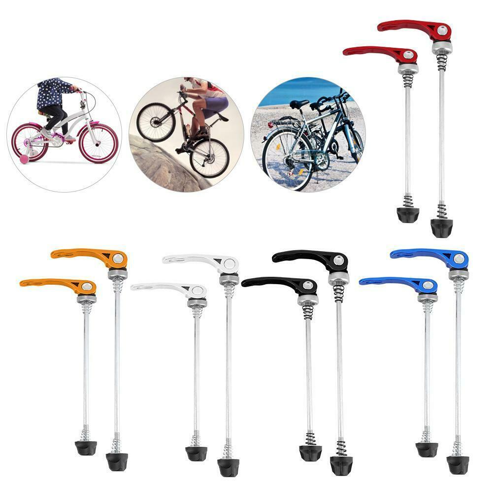 1Pair Road Mountain Bike Bicycle MTB Wheel Hub Skewers Quick Release Durable