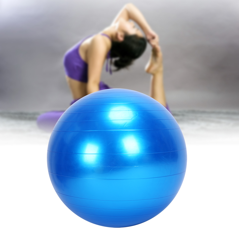 24-034-Yoga-Half-Ball-Exercise-Trainer-Fitness-Balance-Strength-Gym-Home-w-Pump-US thumbnail 36