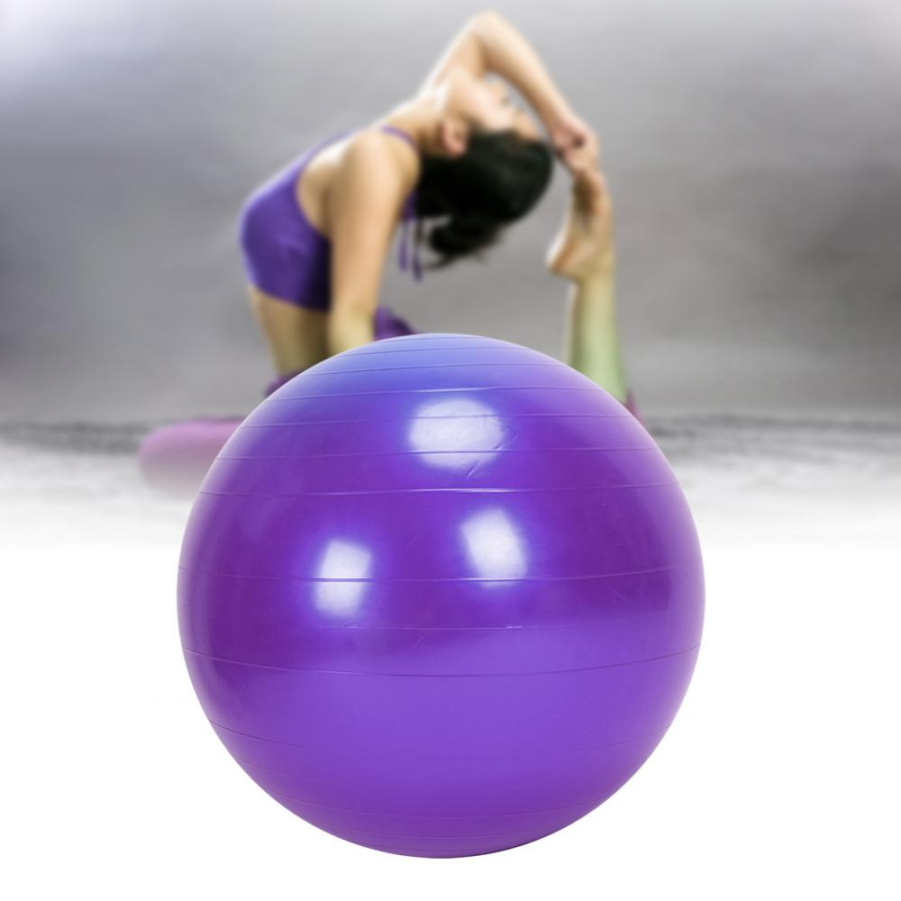 24-034-Yoga-Half-Ball-Exercise-Trainer-Fitness-Balance-Strength-Gym-Home-w-Pump-US thumbnail 40