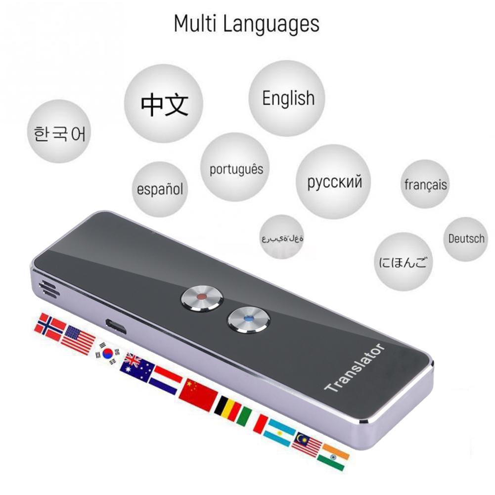 Details about Smart Portable Instant Translator Voice Bluetooth Translation  Device 40 language