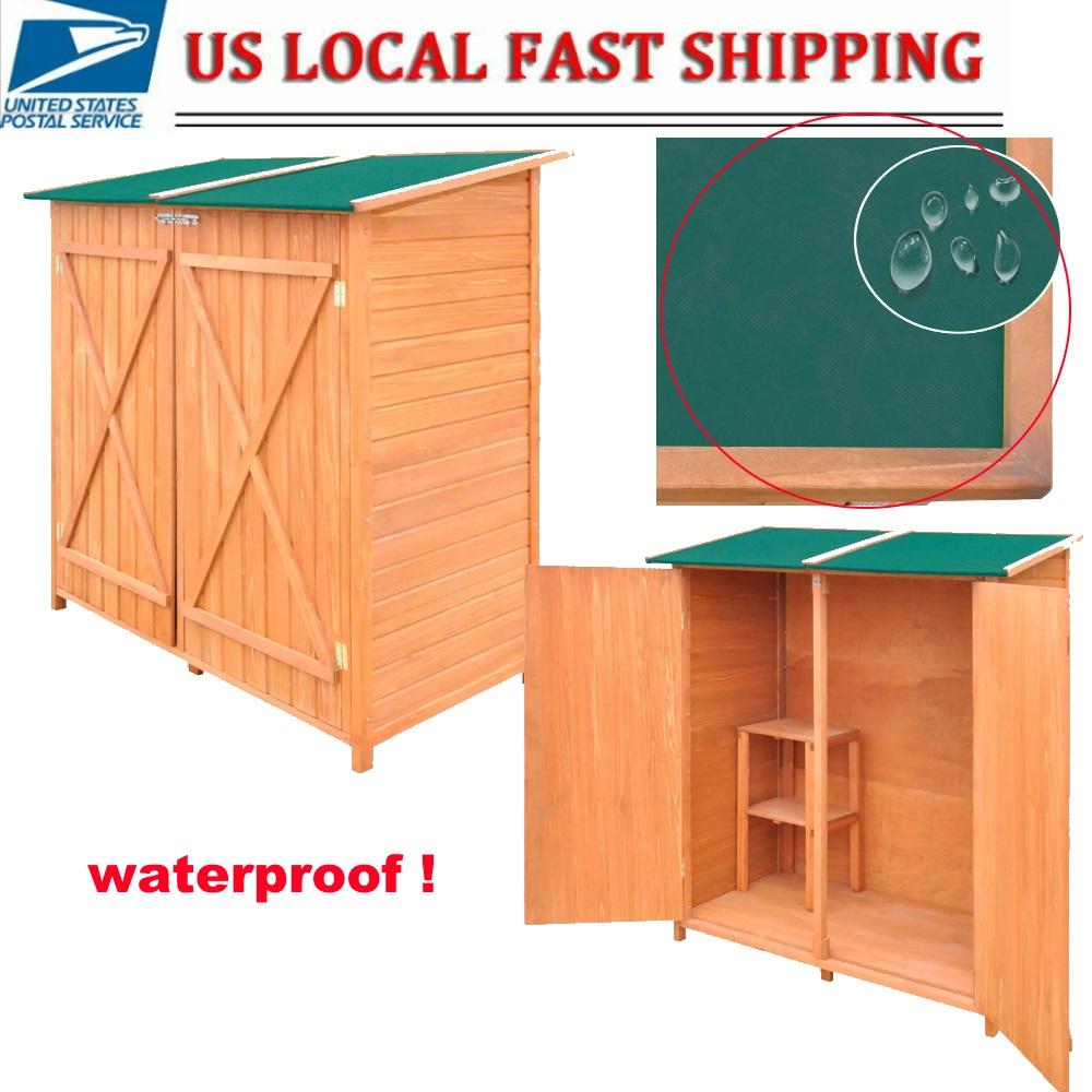 Stupendous Details About Waterproof Garden Storage Tool Shed Lockable Cabinet Outdoor Yard Locker W Stool Beatyapartments Chair Design Images Beatyapartmentscom