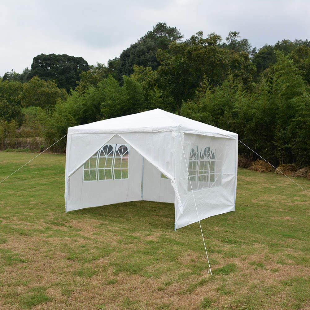 Faltzelt Partyzelt Gartenpavillon Festzelt 3x3m 3x6m Faltpavillon Zelt Weiß DM 1
