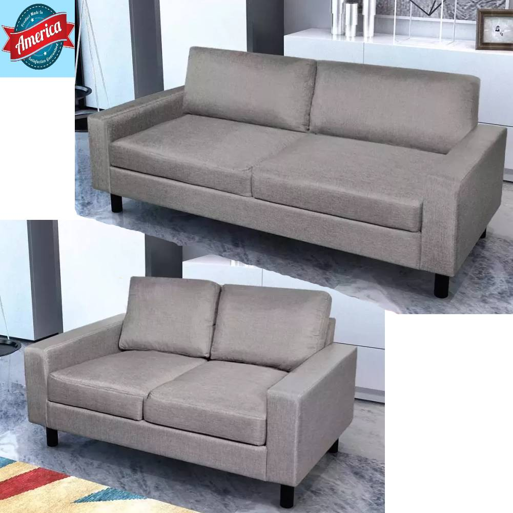 Prime Details About Vidaxl Modern Sofa Bed Lounge Couch Sleeper Living Room Light Gray 2 3 Seater Gmtry Best Dining Table And Chair Ideas Images Gmtryco