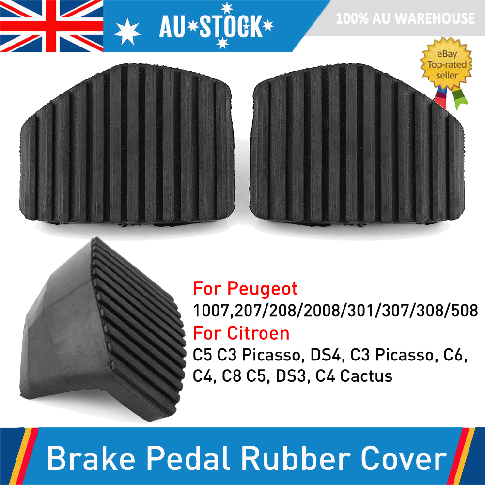Other Brake And Clutch Pedal Cover Rubbers Compatible with Citroen Peugeot Pair