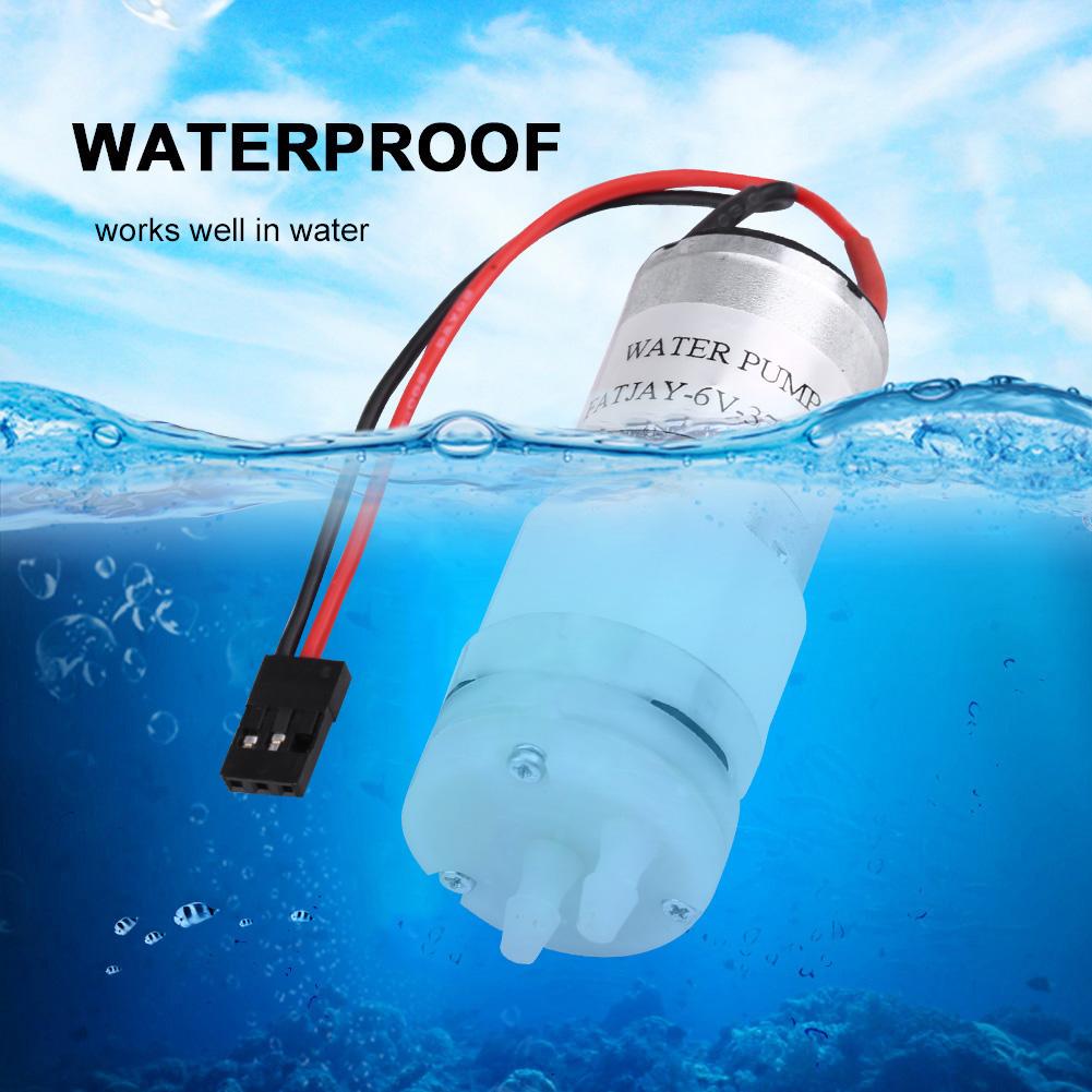 3-6V 370 RC Wasserkühlung Pumpe Wasserpumpe JR Plug für RC Boote Motor /& ESC