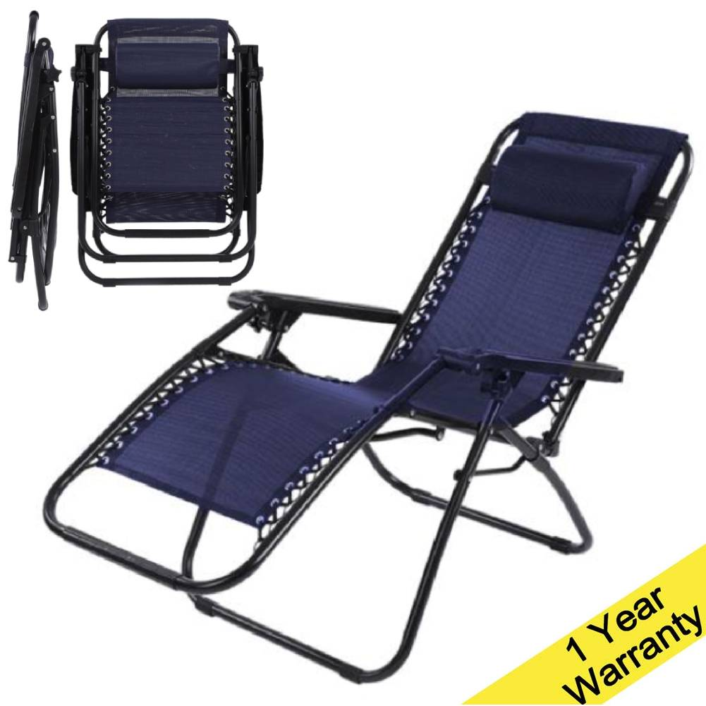 Wondrous Details About Folding Lightweight Reclining Chair Sun Bed Lounger Folding Outdoor Garden 160Cm Ocoug Best Dining Table And Chair Ideas Images Ocougorg