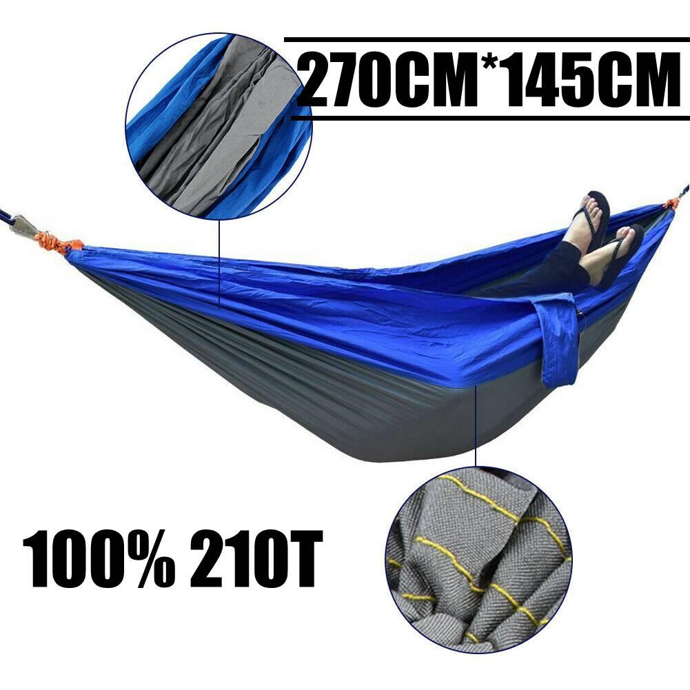 Camping Reise Hängematte Reisehängematte Silk Fallschirmseide bis 300Kg UP