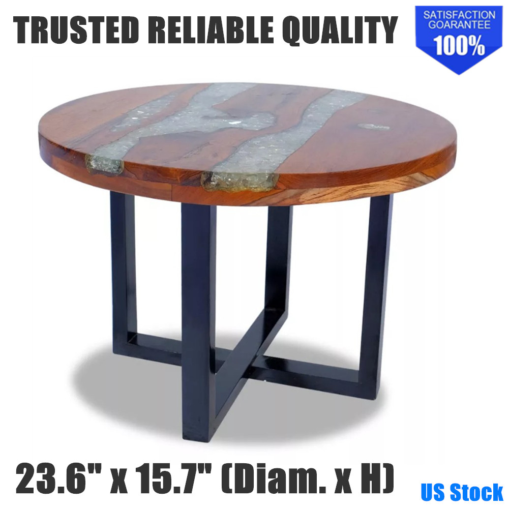Details About Unique Coffee Table Wooden End Accent Indoor Handmade Solid Teak