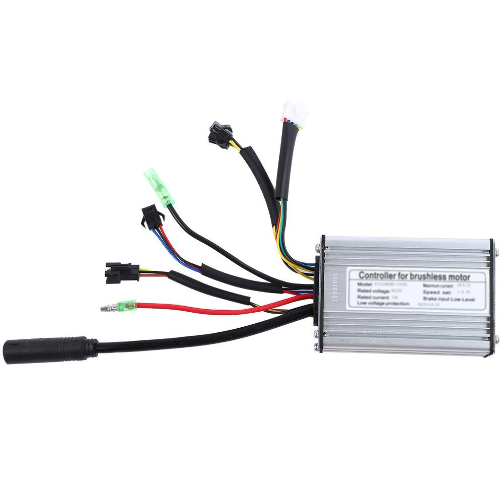 Electric Bicycle Conversion Kit Wheel 24V 250W Motor LED Display Waterproof Wire