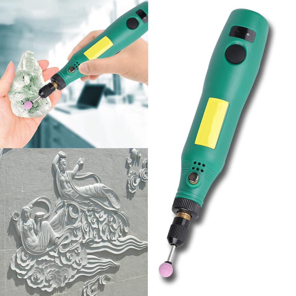 Mini Schleifer Schleifgerät Gravier Multifunktionswerkzeug USB Schleifmaschine H
