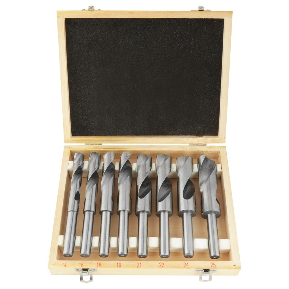 8Pcs Ø14-25mm Spiralbohrer HSS Bohrer Satz Metallbohrer Bohrersortiment  MMP 03