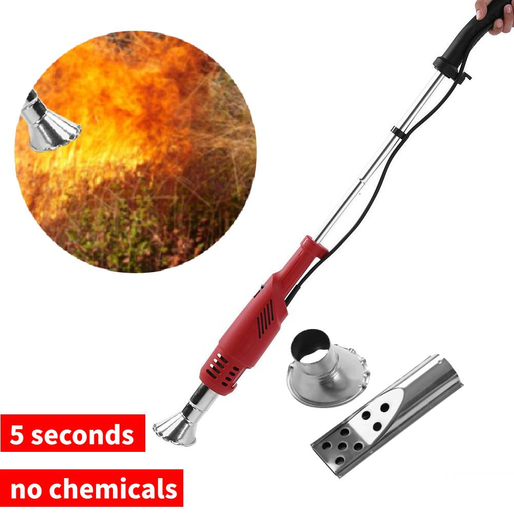 2000W Garden Electric Weed Burner Weeding 60-650°c No Gas Barbecue Igniter US