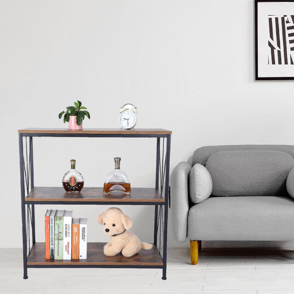 Fantastic Details About 3 Tier Industrial Style Storage Shelf Console Sofa Table Bookcase Bookshelf Rack Download Free Architecture Designs Rallybritishbridgeorg