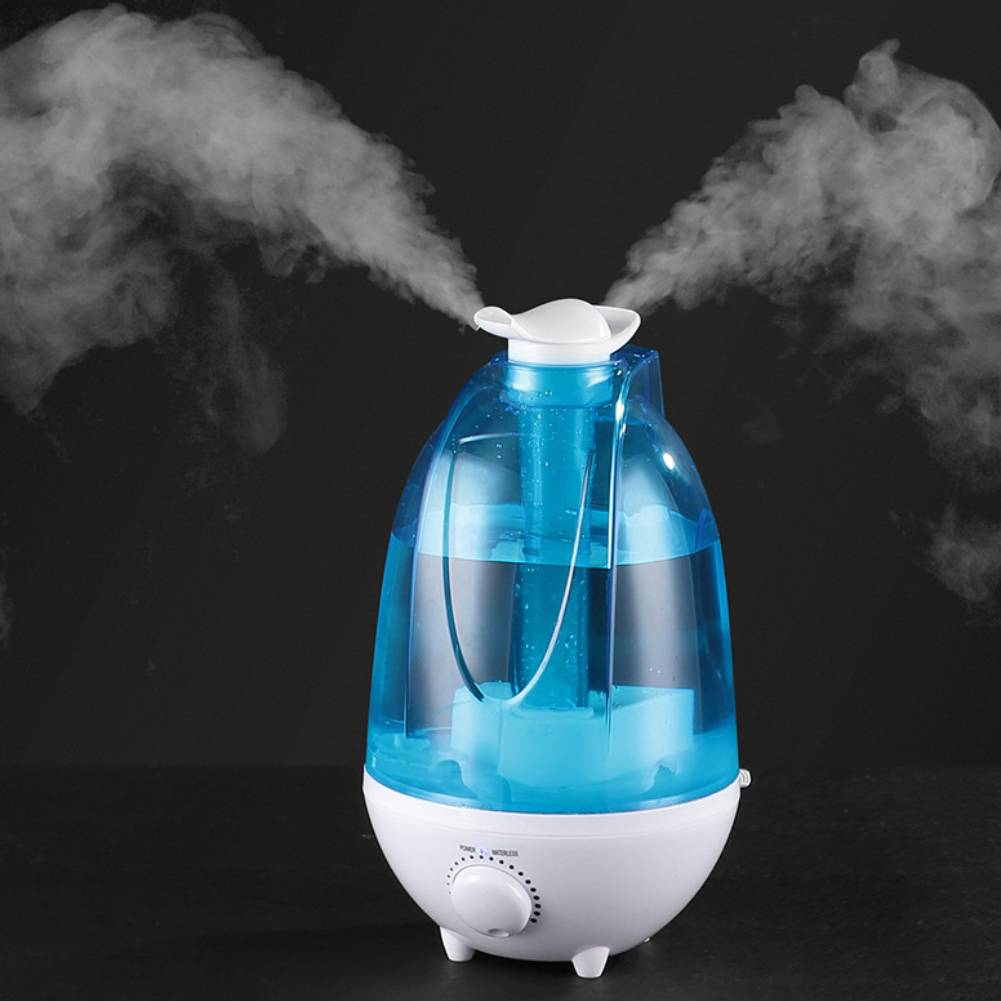 Details about MINI ULTRASONIC AIR AROMA HUMIDIFIER WITH 3L LITRE WATER TANK AND NIGHT LIGHT