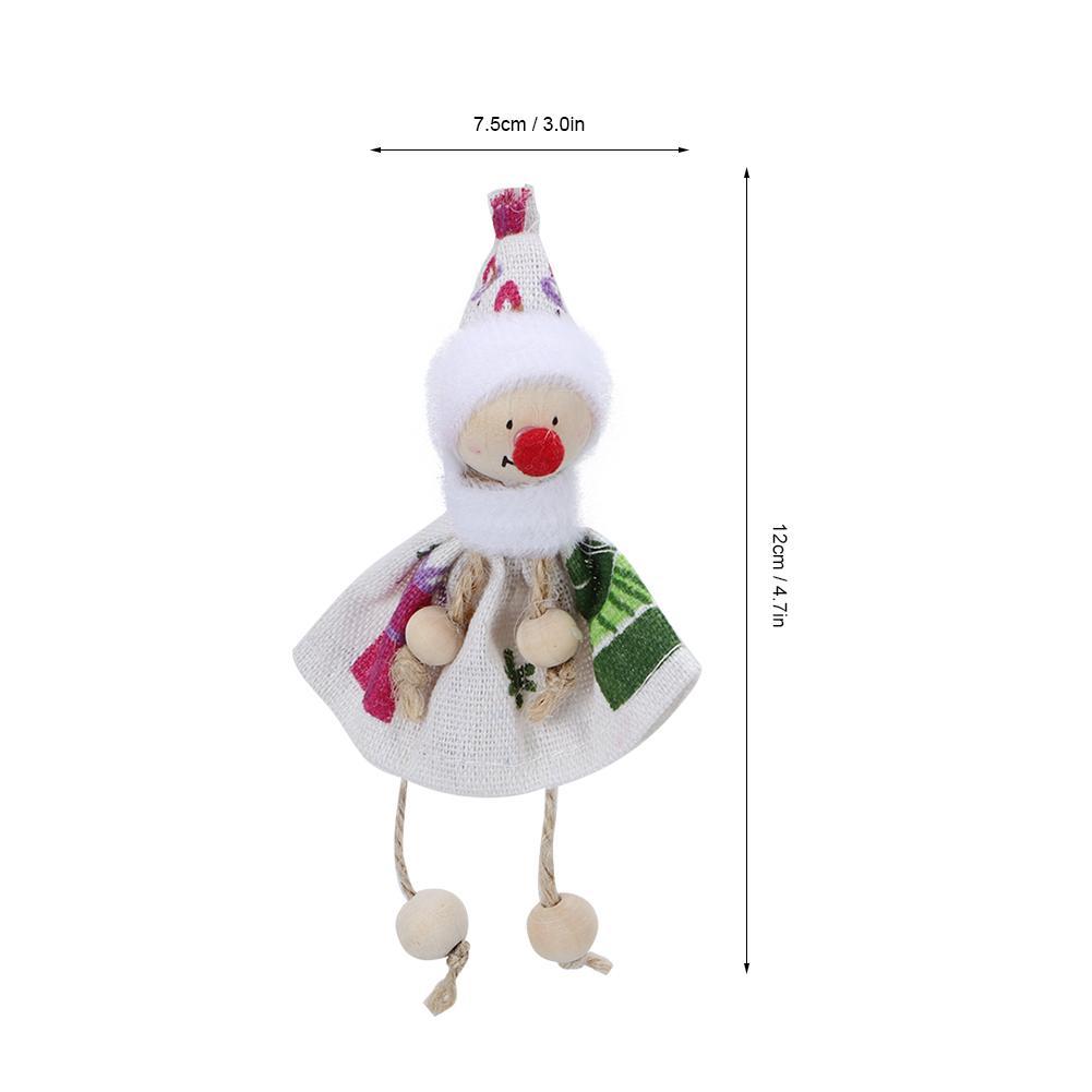 Christmas-Decorations-Tree-Ornament-Xmas-Hanging-Accessories-Wooden-DIY-Pendant thumbnail 43