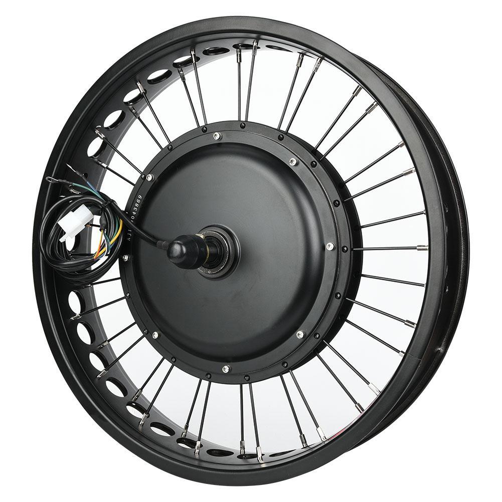 """48V 1000W Electric Bicycle E-bike Hub Motor 20/""""//26/"""" Wheel Conversion Refit Kit"""