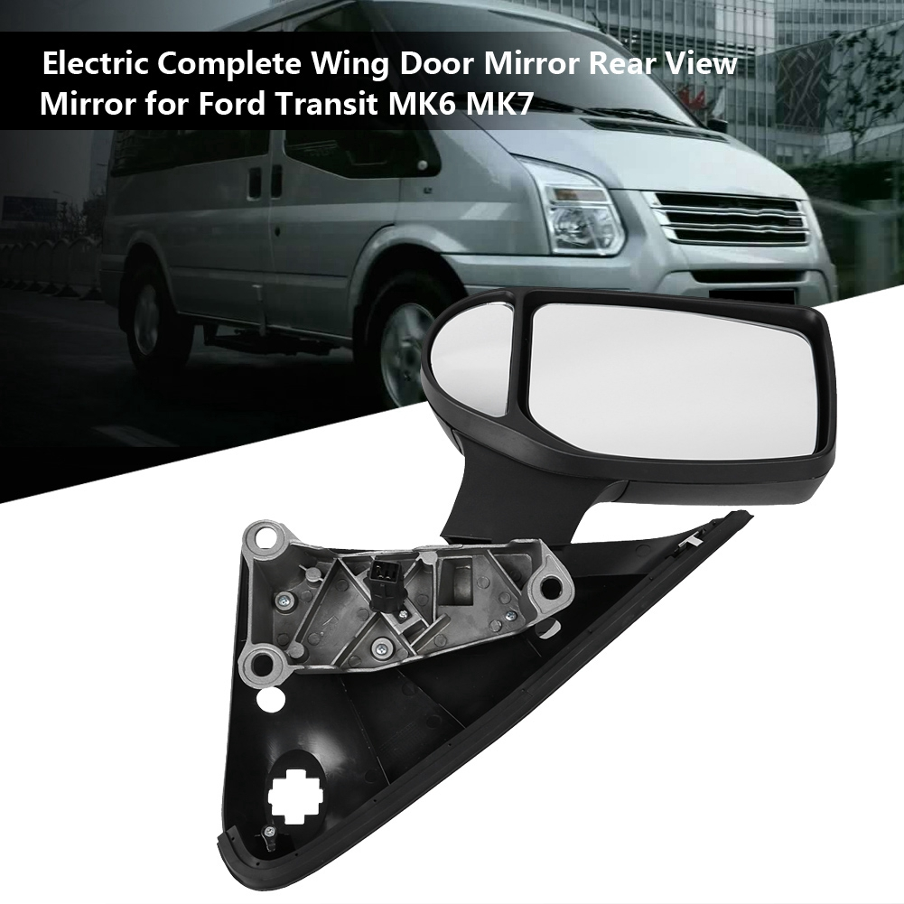 *Ford Transit MK6//MK7 Complete Wing Door Mirror Manual Nearside Passenger TRA348