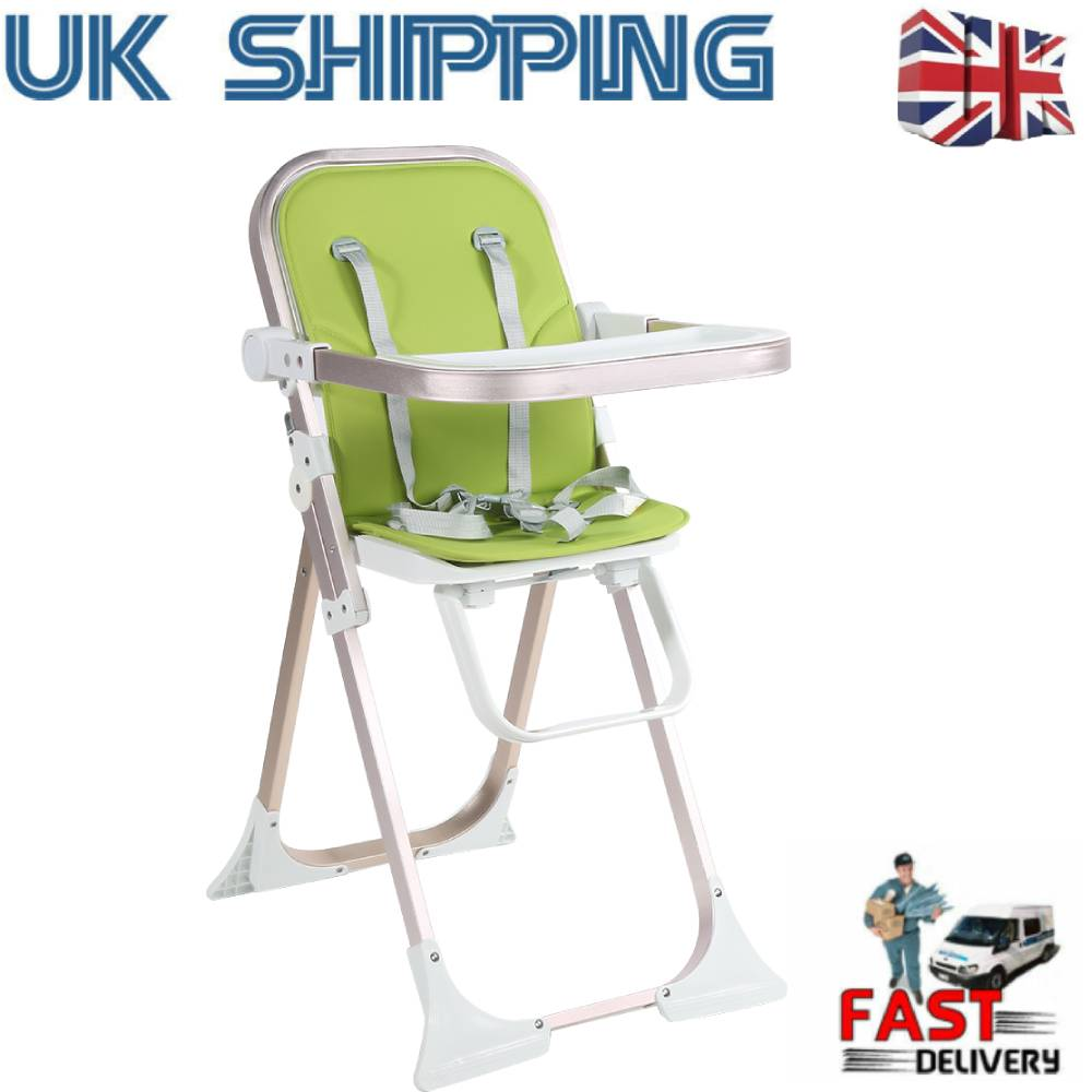 Portable Baby Kids Dining Feeding Home High Chair Seat Harness Strap Chair Belt