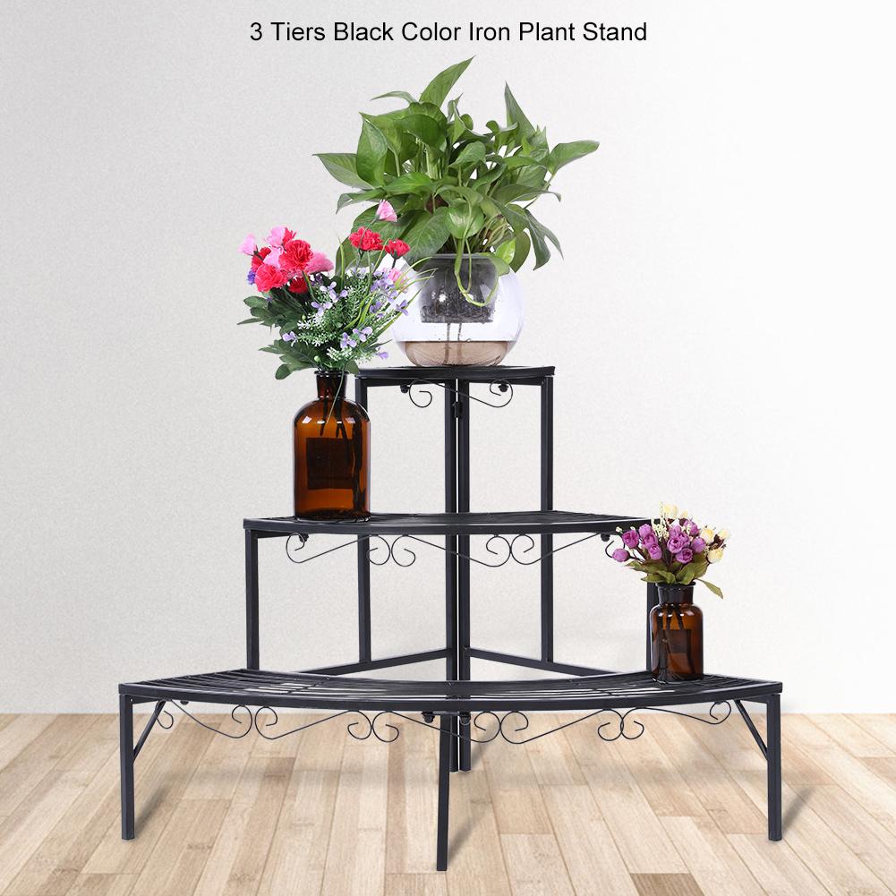 Holz Blumentreppe Blumenständer Pflanzentreppe Blumenbank Blumenetagere Regal