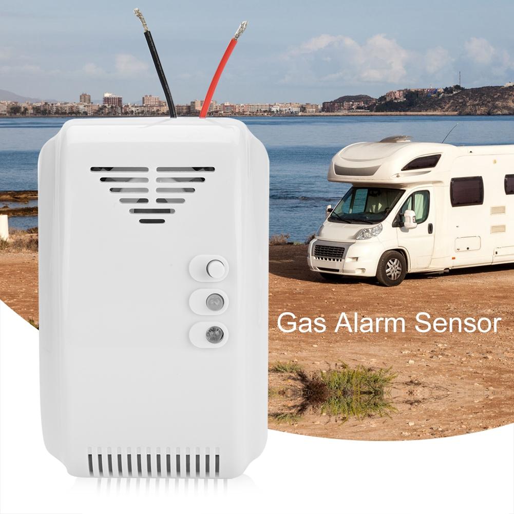 Gaswarner Erdgas Alarmsensor Gasmelder Propan Butan LPG Rauchmelder Gas Melder