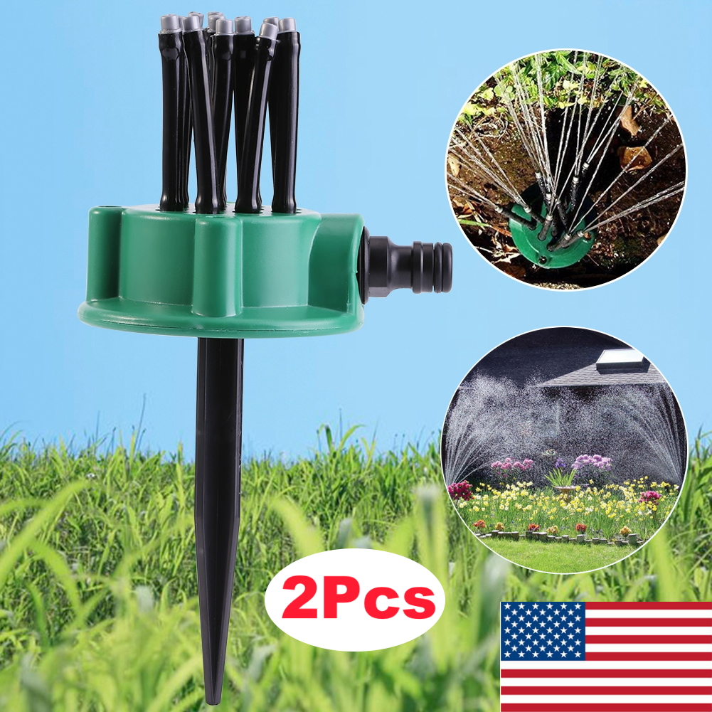 Noodle Head 360° Garden Yard Sprinkler Lawn Irrigation Sprayer Watering Tools