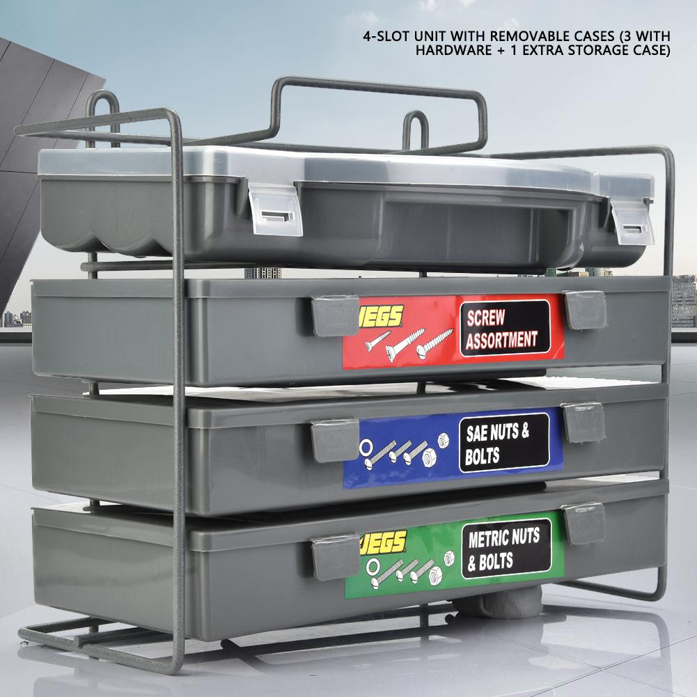 1200tlg Sechskantschrauben Schraubenbox Schraubenkoffer Sortimentbox XY