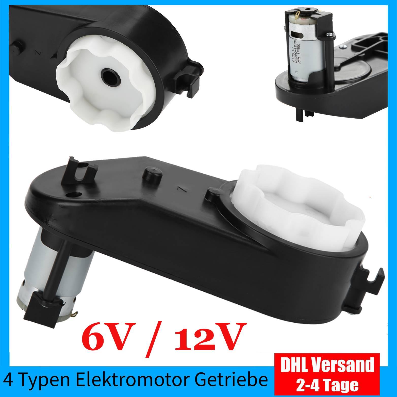 6V//12V Getriebe für Kinderwagen Antriebsmotor Fahrzeug Elektroauto Spielzeug $