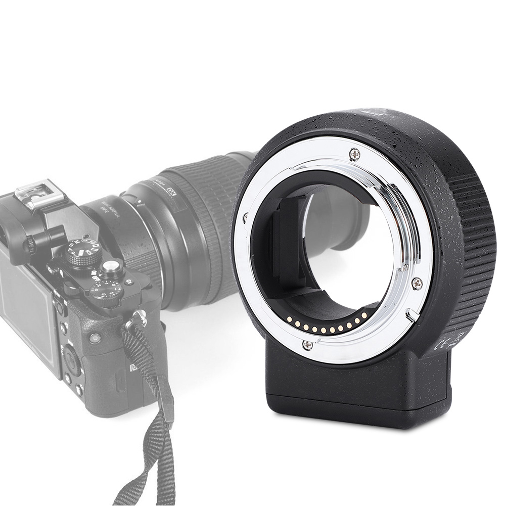 Vbestlife Camera Lens Adapter Ring MD-NEX Made of Aluminum Alloy for Minolta MD Mount Lens to for Sony NEX Mount Camera