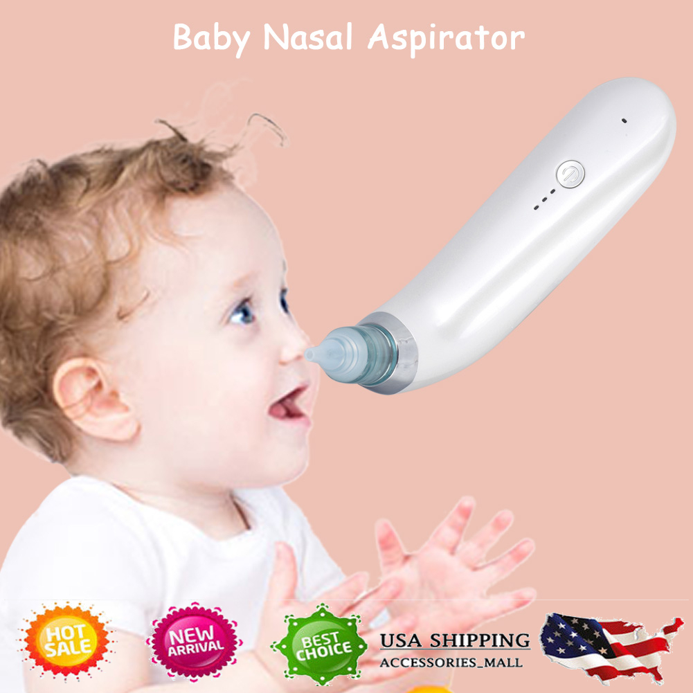 Electric Nasal Aspirator,Electric Nose Cleaner,Snot Booger Sucker for Babies nd